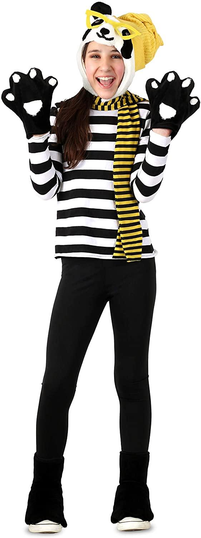 Princess Paradise Tween Hipster Panda Childs Costume, Tween 10-12