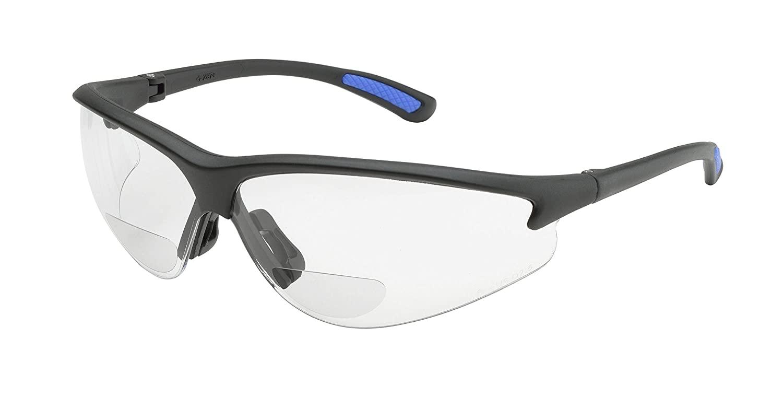 Elvex WELRX30030 RX-300 Clear Lens, 3.0 Diopter, Black Frame