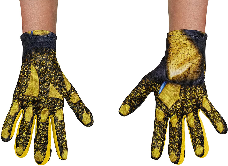 Disguise Inc - Power Rangers: Yellow Ranger Child Gloves