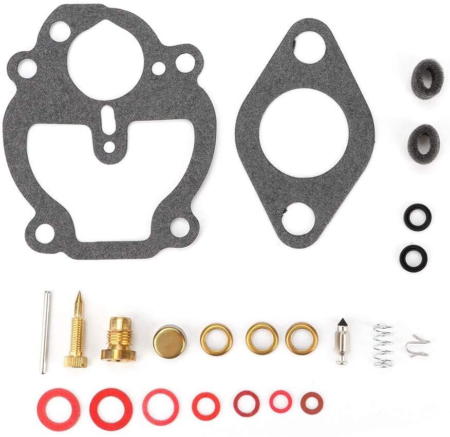 Carburetor Rebuild Kit, Carburetor Carb Repair Rebuild Kit Fit for Allis Chalmers Carb Repair Kit for Allis