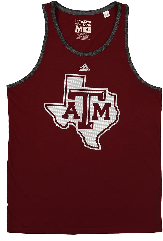 adidas NCAA Mens Texas A&M Ultimate Tank
