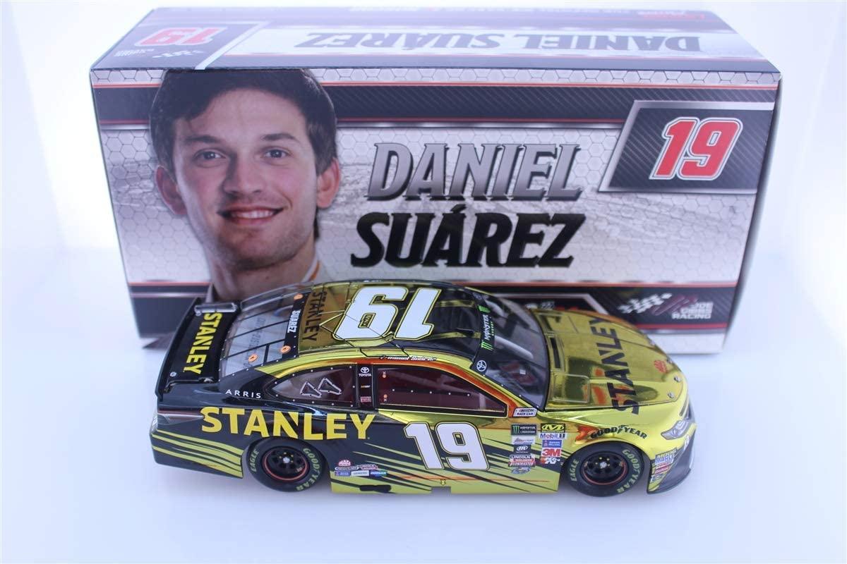 Lionel Racing Daniel Suarez 2017 Stanley 1:24 Color Chrome Nascar Diecast