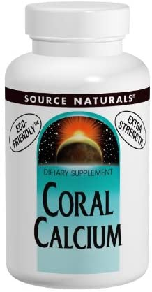 Source Naturals Coral Calcium 1200 Mg, 60 Tablets