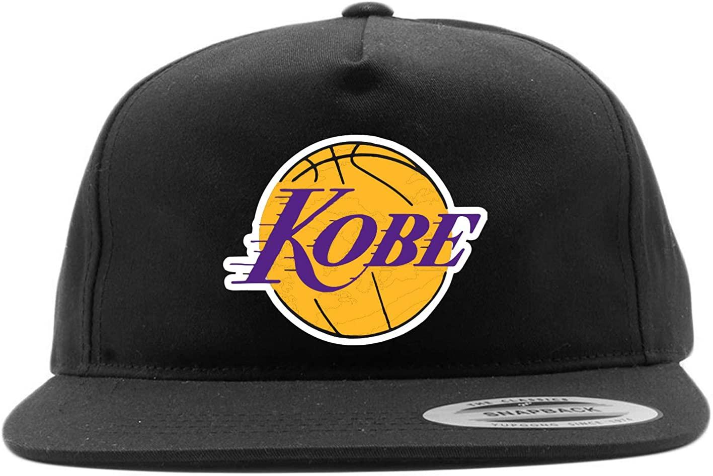 Purple Snapback Los Angeles Kobe Logo Hat
