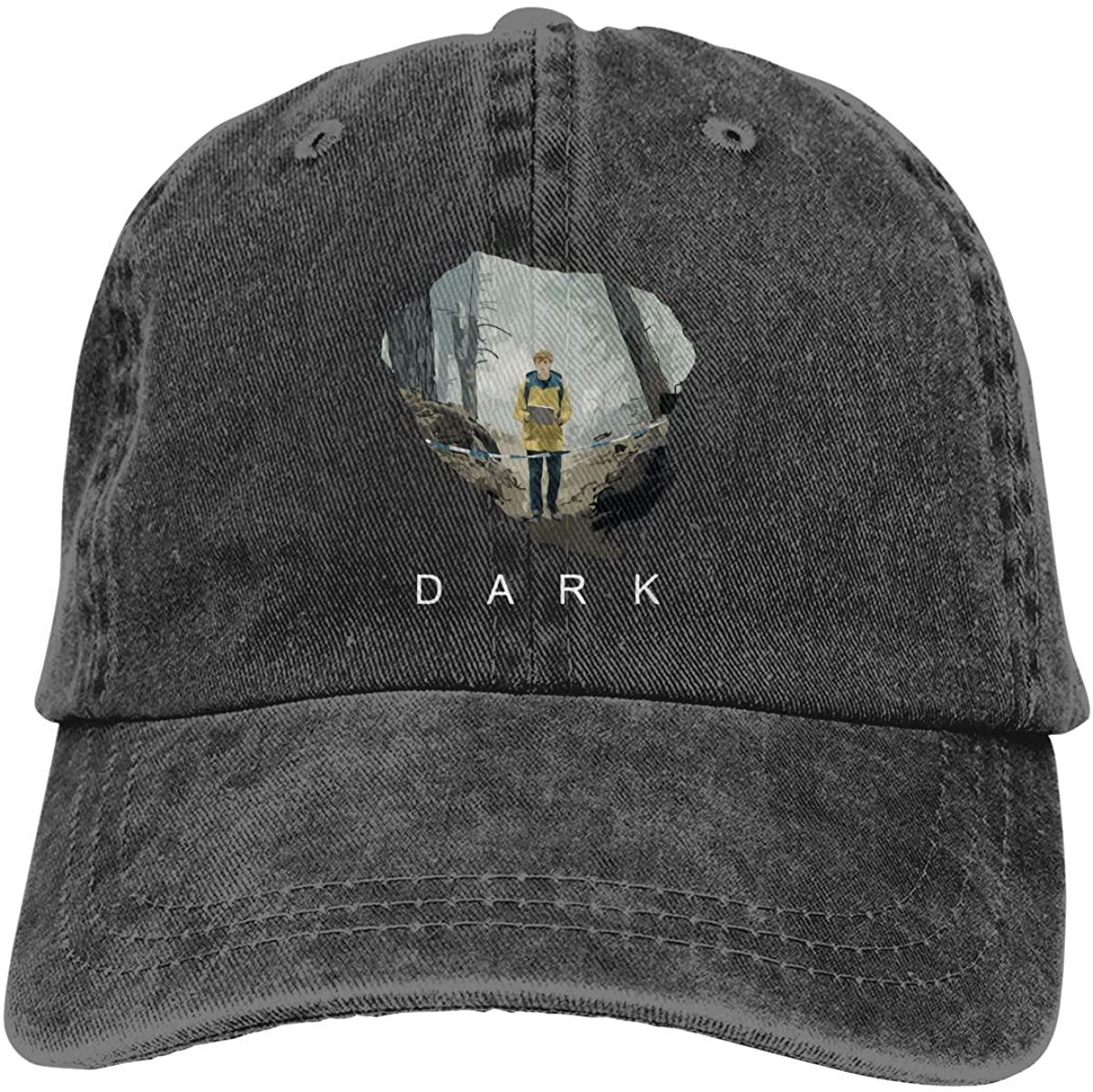 Zfy Dark-Jon=As Adjustable Unisex Hat Baseball Caps Black