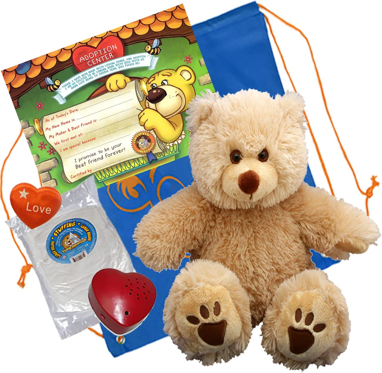 Teddy Mountain Goldie a Very Furry Bear (16