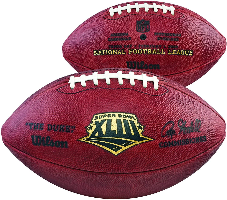 Super Bowl XLIII Wilson Official Game Football - NFL Balls