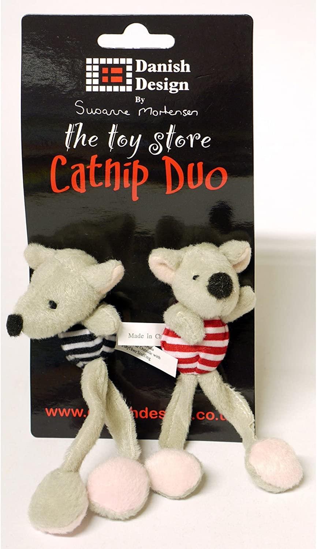 Danish Midge and Madge Catnip Duo Dog Toy, 13 cm
