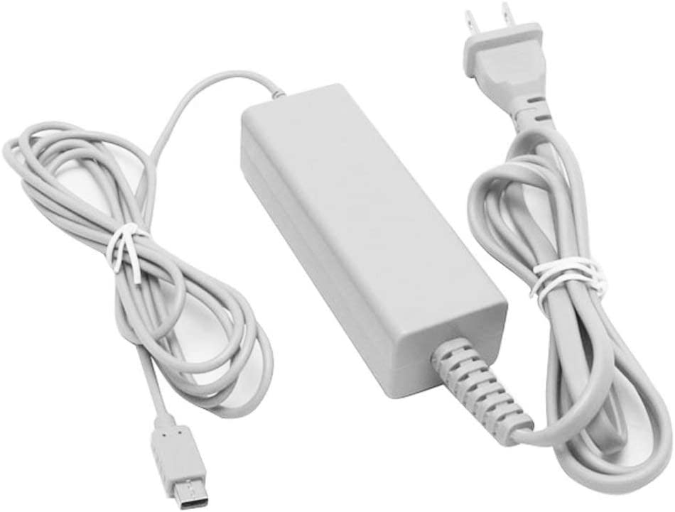 Wii U Gamepad Charger, AC Wall Power Adapter Supply Charger for Nintendo Wii U Gamepad Remote Controller