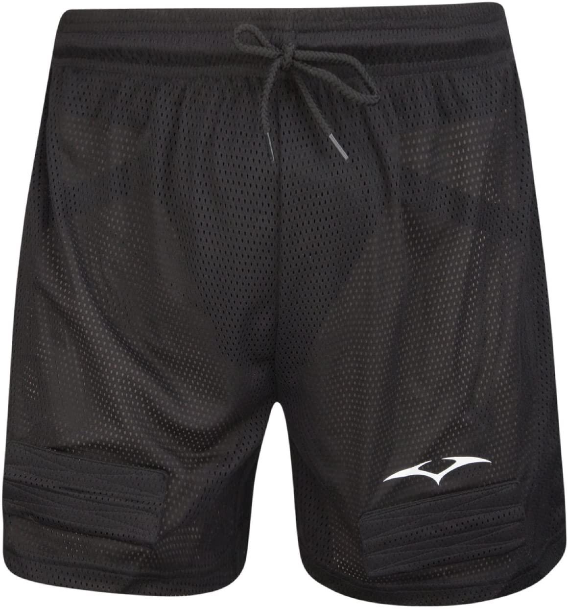Vic's Hockey Pro Athletic Jock Shorts, Black, Youth
