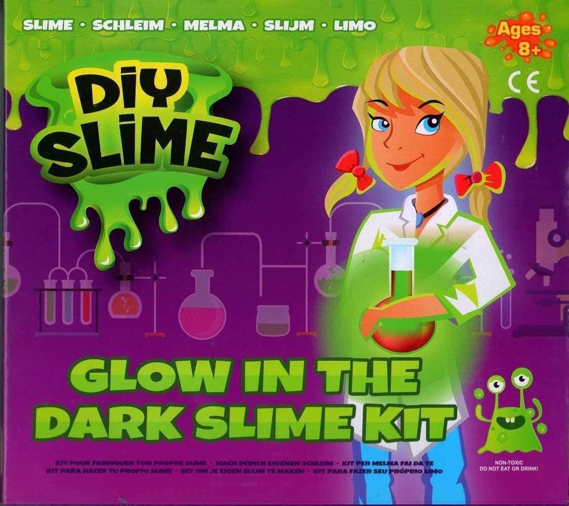 Pms International DIY Slime Glow in The Dark NO Borax Creative Messy Make Your own