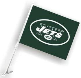 Hall of Fame Memorabilia New York Jets Car Flag