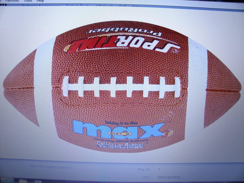 SportimeMax ProRubber Football #6 Junior Set of 2