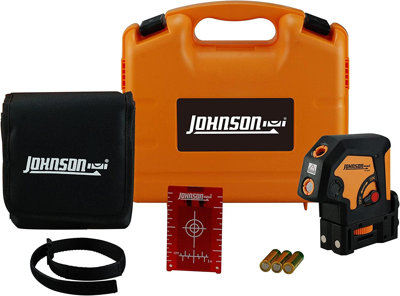 Johnson Level & Tool 40-6693 Self-Leveling 3 Dot Laser