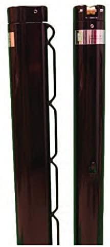 Har-Tru Tennis Court Accessories - Tennis Net Deluxe Internal-Wind Retrofit Post - Green