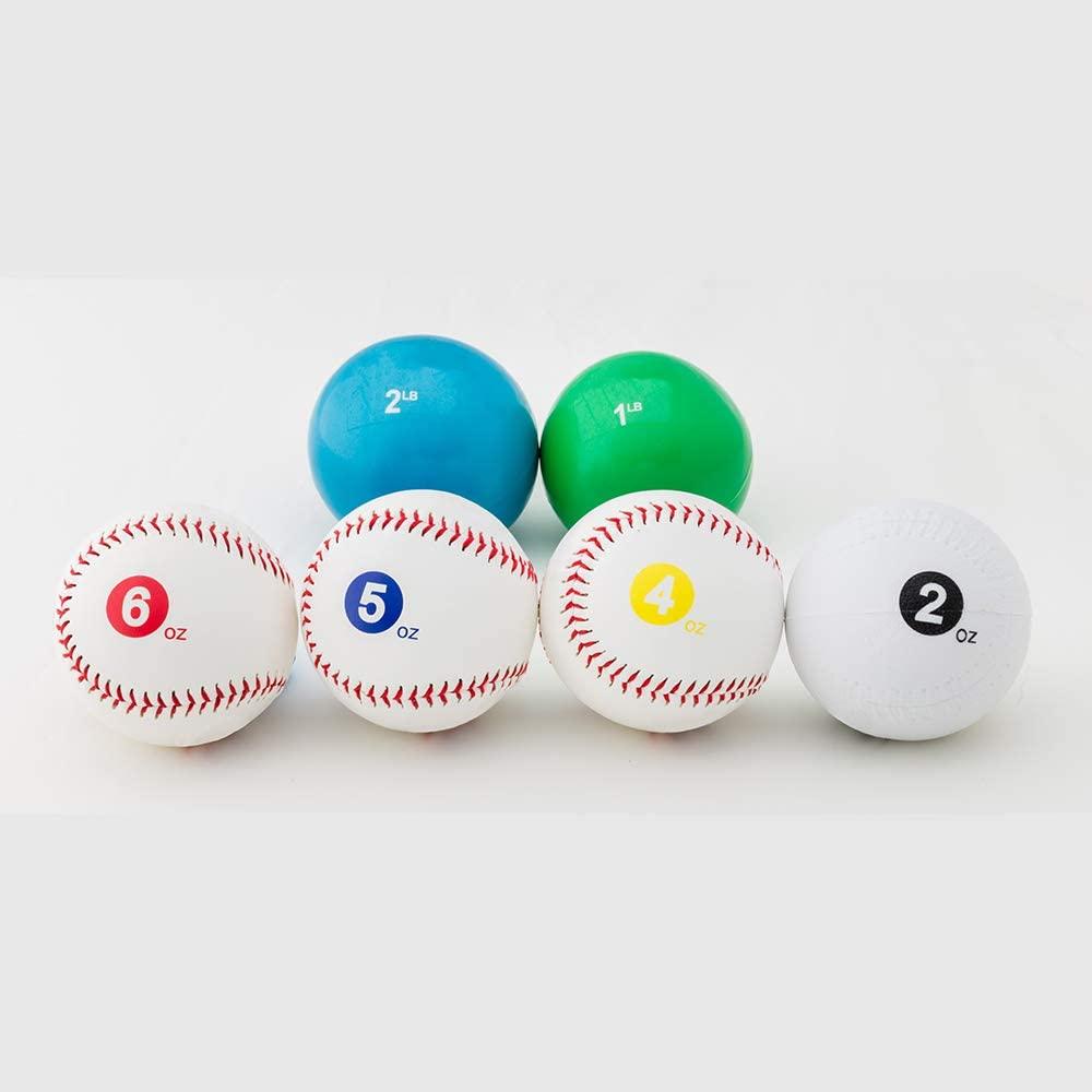 NPA Official Weighted Baseballs (6pc Set)