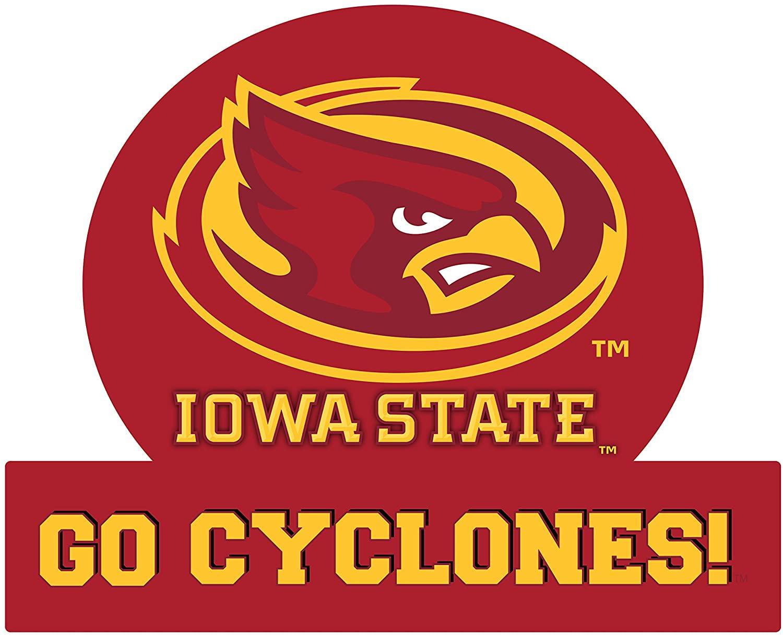 Iowa State Cyclones Jumbo Tailgate Magnet-Iowa State University CAR Magnet