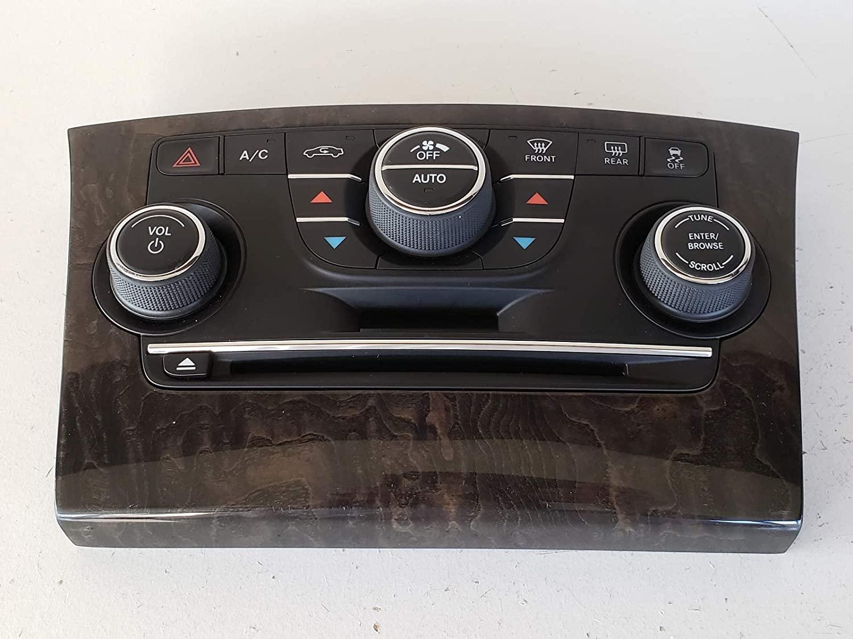 Genuine Chrysler 1QH14AAAAC Radio Stack