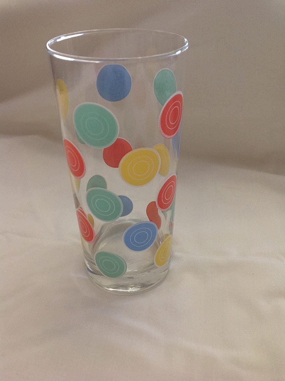 Fiesta high ball glasses-dots