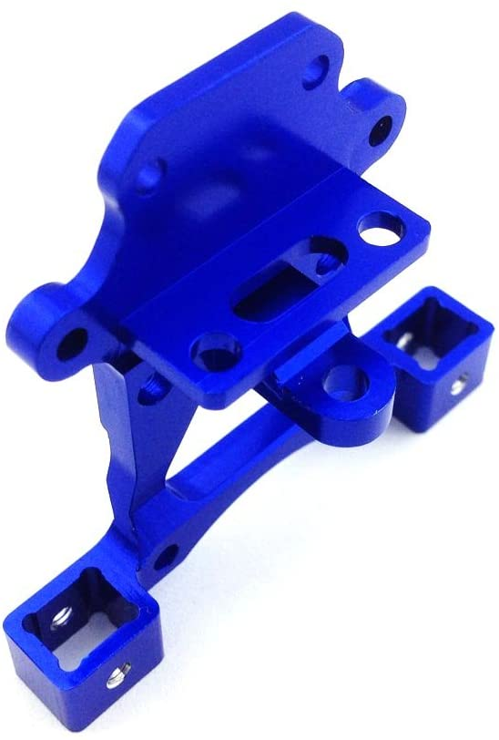 Atomik RC Alloy Body Mount, Blue fits The Traxxas 1/16 Slash 4x4 and Other Traxxas Models - Replaces Traxxas Part 7015