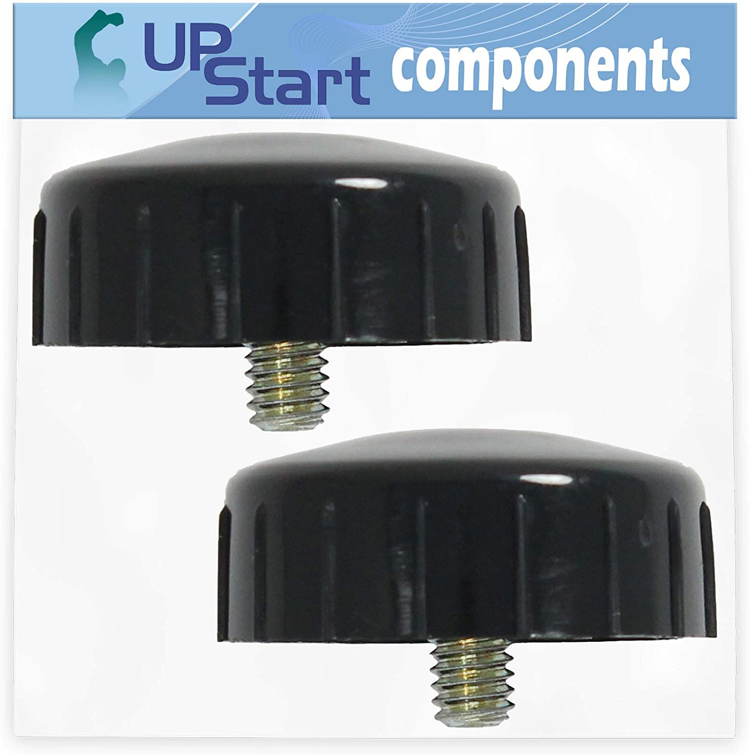UpStart Components 2-Pack 791-153066B Bump Head Knob Assembly Replacement for MTD 2800m (41BD280G700) (2004) 41BD280G700 Gas String Trimmer - Compatible with 791-153066 Right Hand Bump Head Knob