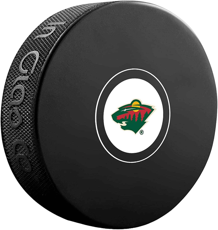 Minnesota Wild Unsigned InGlasCo Autograph Model Hockey Puck - Fanatics Authentic Certified - Unsigned Pucks