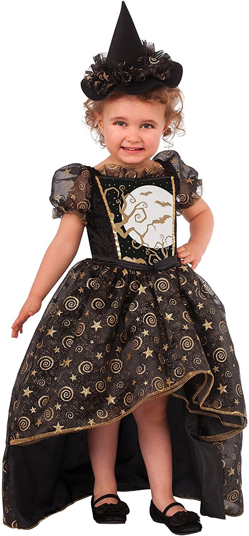 Rubie's Glitter Witch Child's Costume, Small