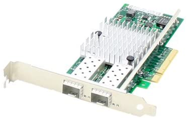 Addon 430-4435-AO Dell 430-4435 Comparable Dual SFP+ Port PCIe NIC - Network adapter - PCIe x8-10 Gigabit SFP+ x 2 - for Dell PowerEdge R620, R720, R820, T620