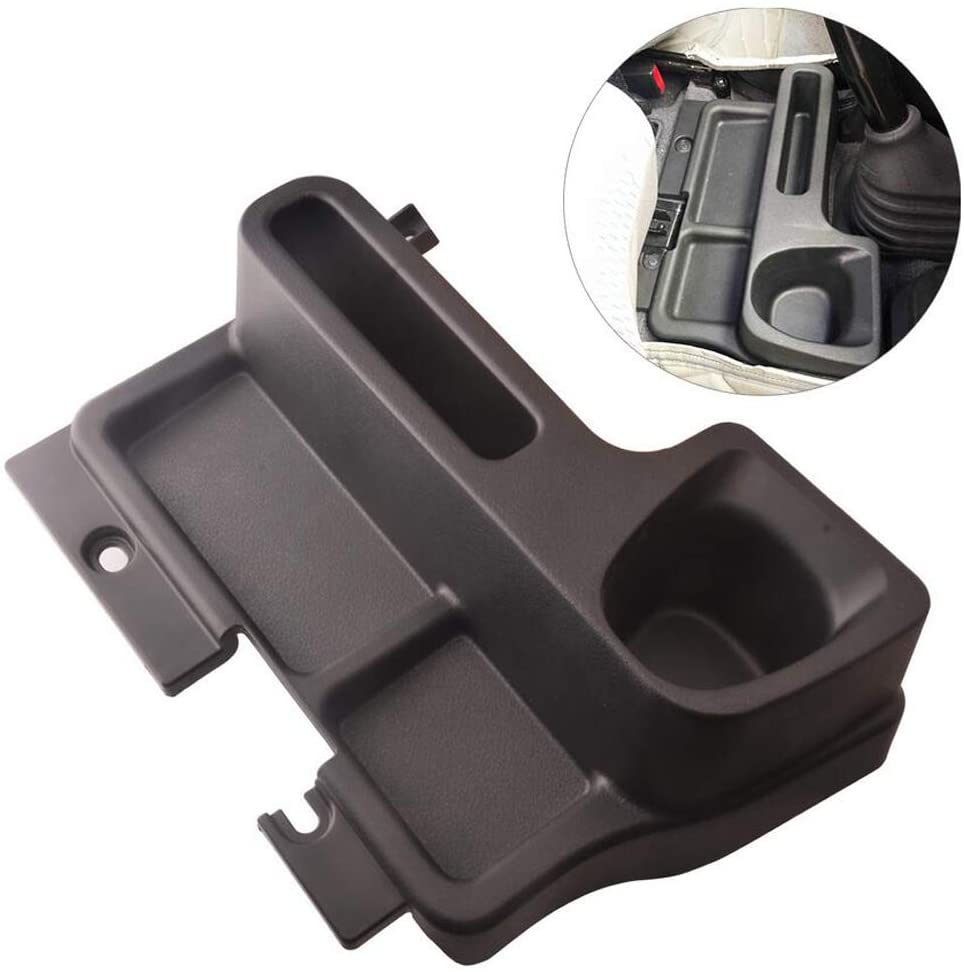 Cosilee Center Console Box Gear Insert Water Cup Holder Fit for Toyota Land Cruiser LC70 LC71 LC76 LC77 LC79