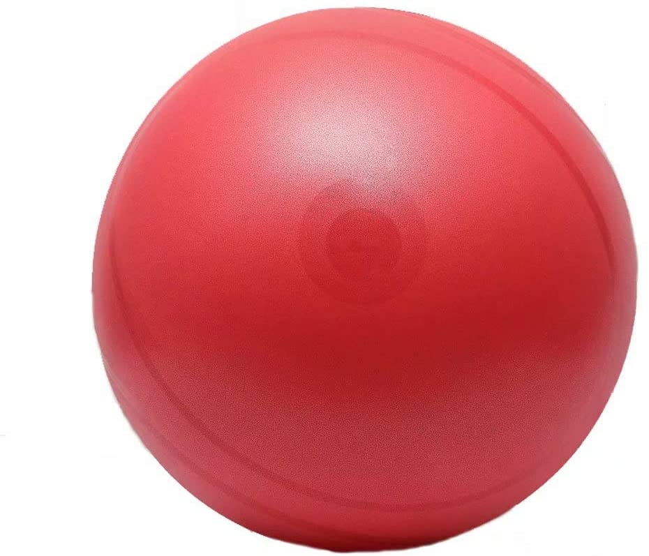 Yoga ball Zym Exercise Ball,Fitness Ball Weight Loss Pregnant Woman Midwifery Childbirth, Scrub,Non-Slip,Free Air Pump,Can Be Used Indoors,(Red,75Cm)