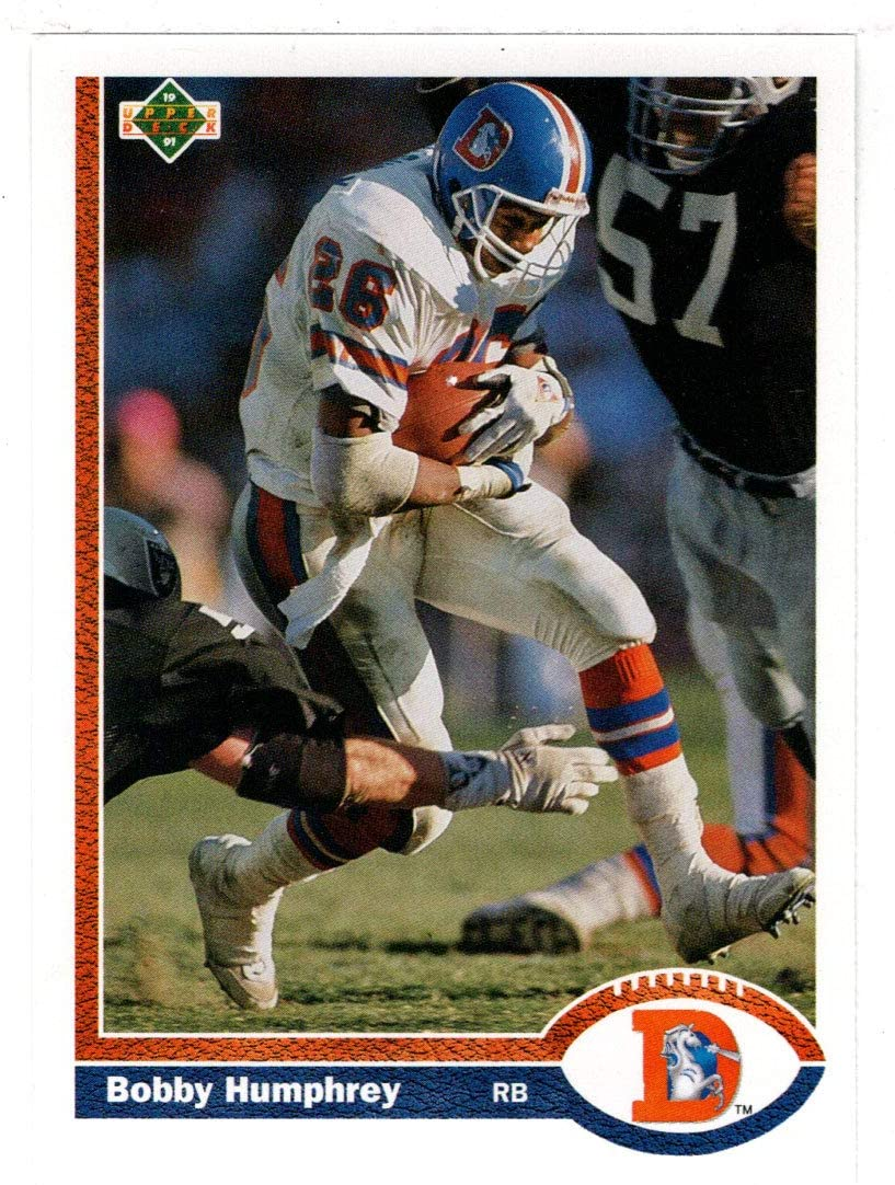 Bobby Humphrey - Denver Broncos (Football Card) 1991 Upper Deck # 142 Mint