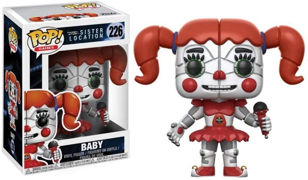 Funko Pop - 226 Games Five Nights: Sister Location - Baby Vinyl Figure