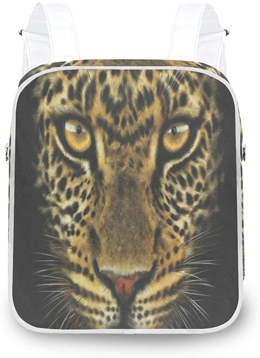 Women Backpack Tiger Face Portrait Shoulder Bag Fashion Daypack Convertible Backpack for Girls Ladies