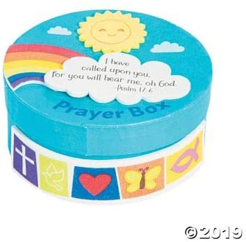 Prayer Box Craft Kit - Crafts for Kids and Fun Home Activities