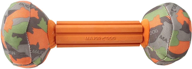 MajorDog Barbell Fetch Dog Toy
