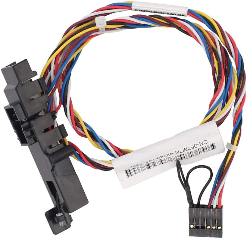 MOTOKU New Power Button with Switching Line for DELL XPS 8300 8500 8700 0F7M7N