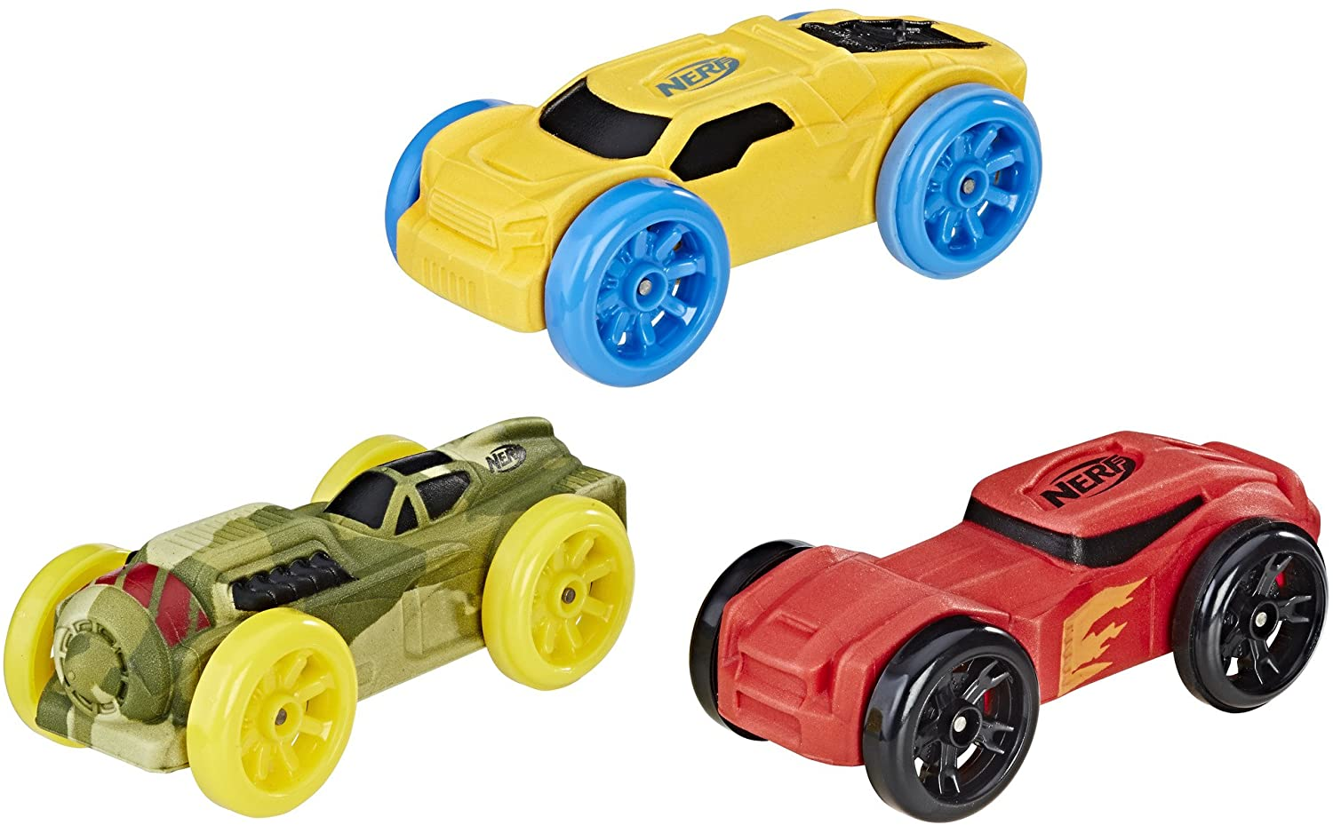 Nerf Nitro Foam Car 3-Pack (Version 5)
