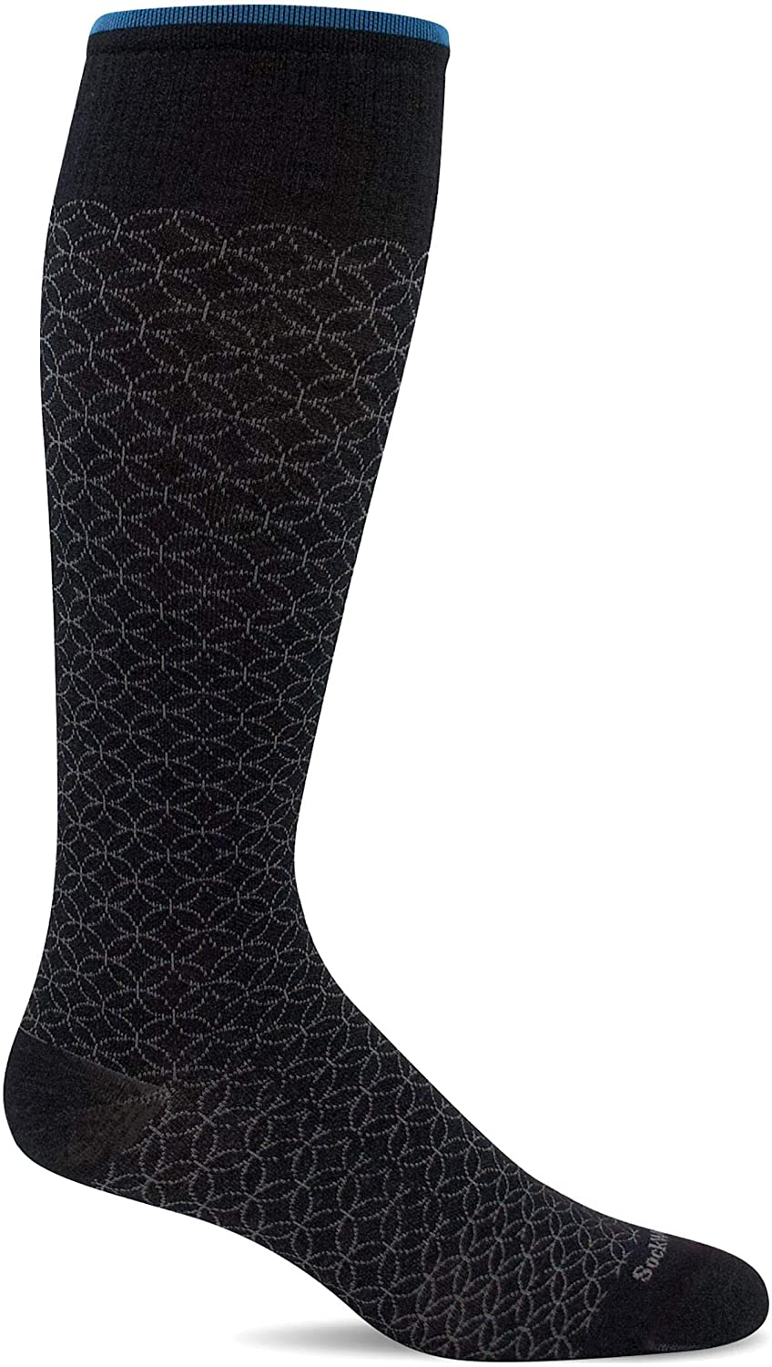 Sockwell Women's Featherweight Fancy Moderate Graduated Compression Sock