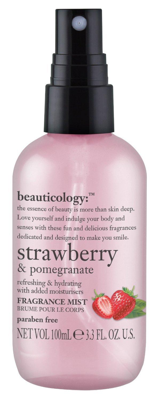 Baylis & Harding Beauticology Strawberry & Pomegranate Fragrance Mist. 100ml.