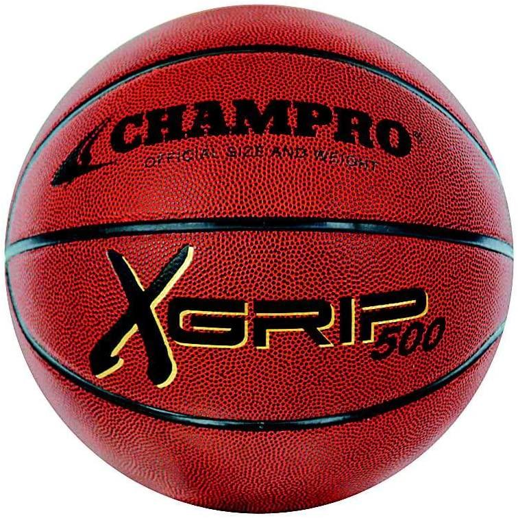 Champro X Grip 500 Basketball (Brown, 27)