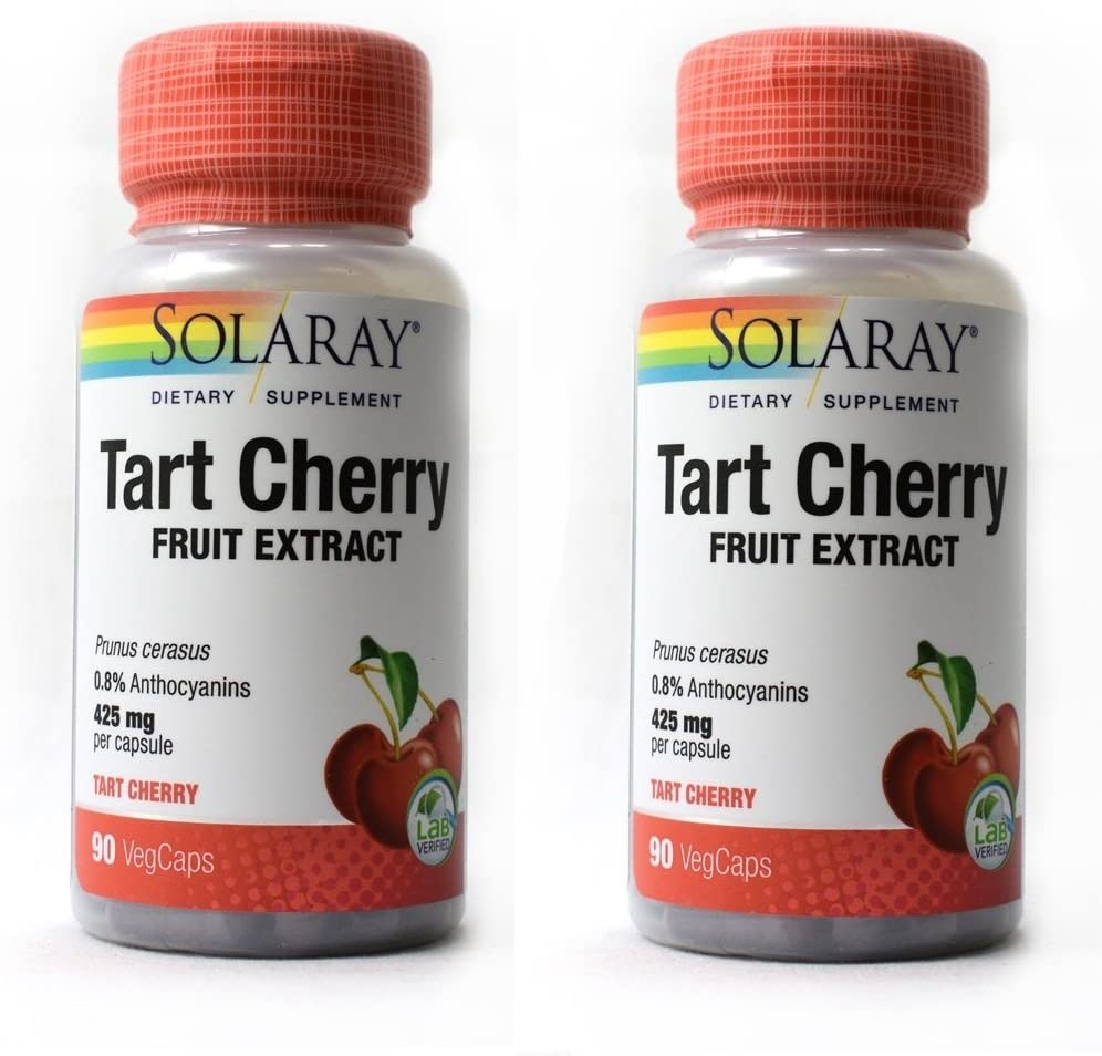 Tart Cherry Solaray 90 VegCaps