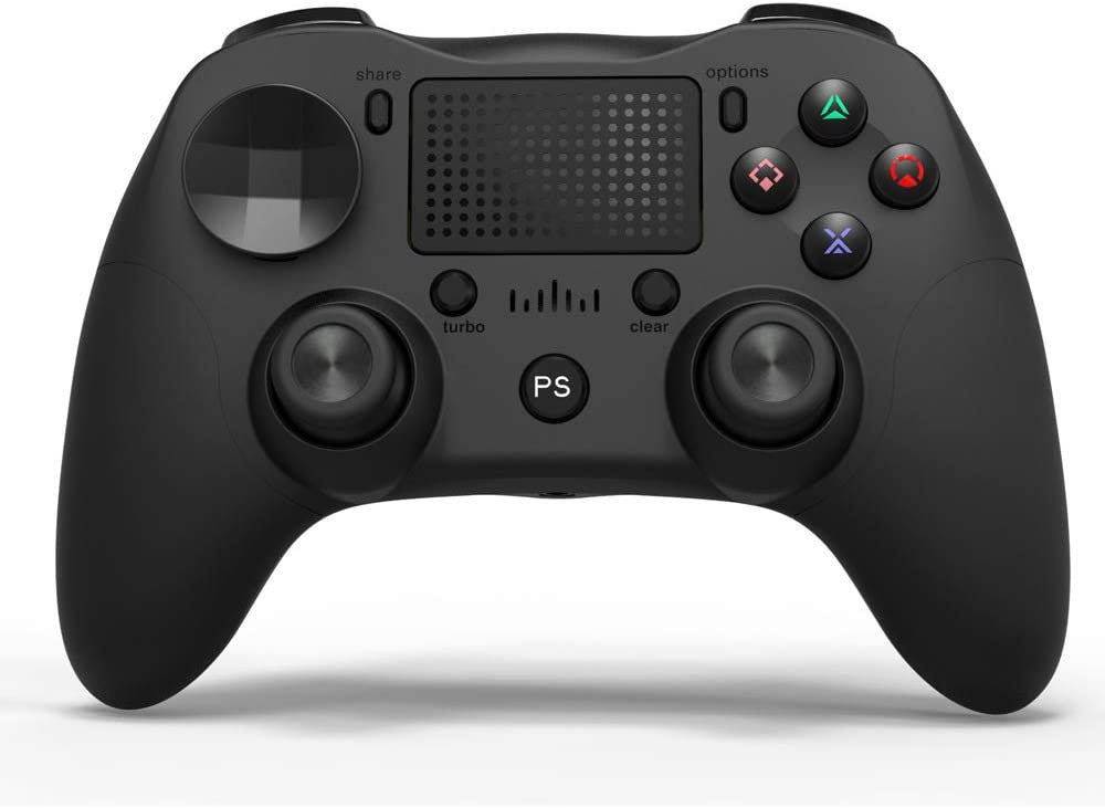 PS4 Controller ArmYourDesk Wireless Controller, Touch Panel Gamepad with Dual Vibration, Bluetooth Connection PS4 pro Controller for Playstation 4/Pro/Slim/PC