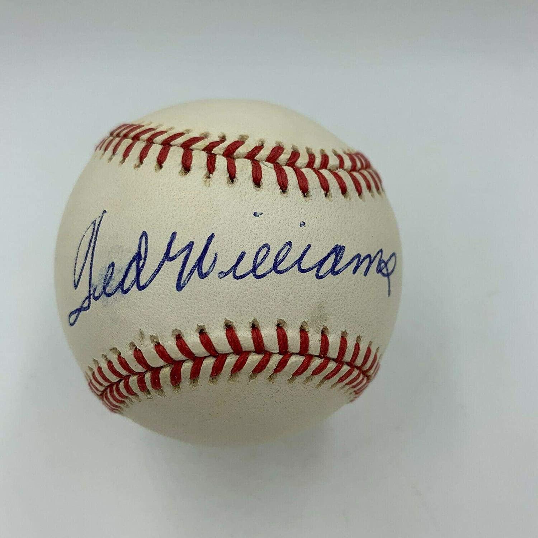 Signed Ted Williams Baseball - Mint American League COA - PSA/DNA Certified - Autographed Baseballs