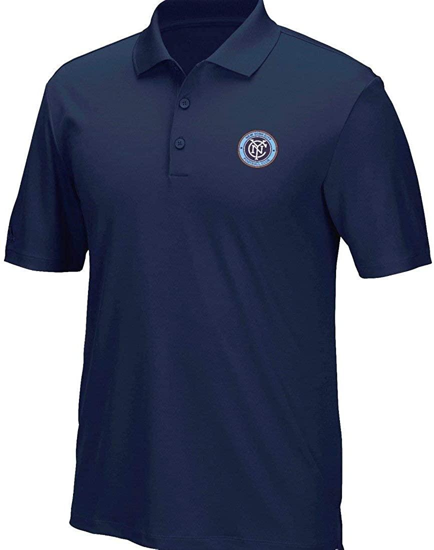 adidas New York City FC MLS Men's Performance Climacool Polo Shirt