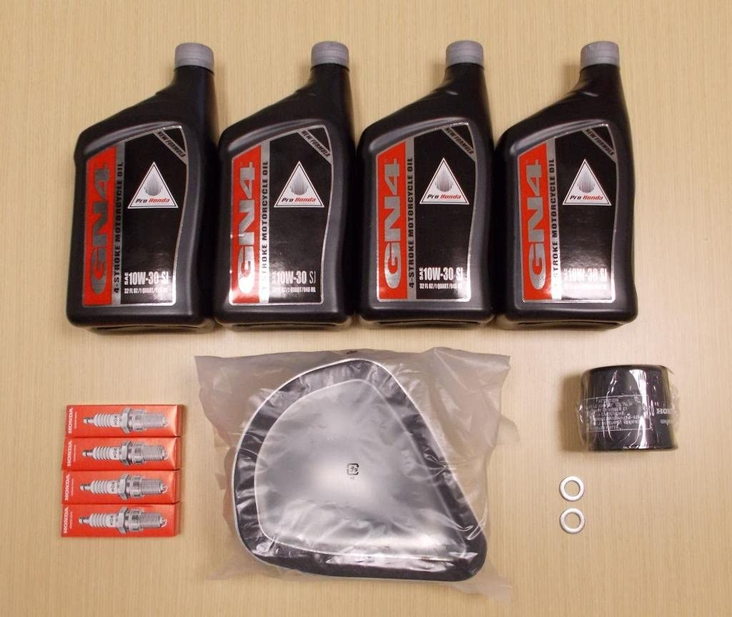 New 2010-2013 Honda VT 1300 VT1300 Interstate Complete Oil Service Tune-Up Kit