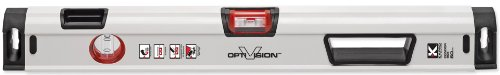 Kapro 905-41-24M Condor Professional Magnetic Box Level with Optivision Red and Plumb Site Dual View Vial, 24-Inch Length