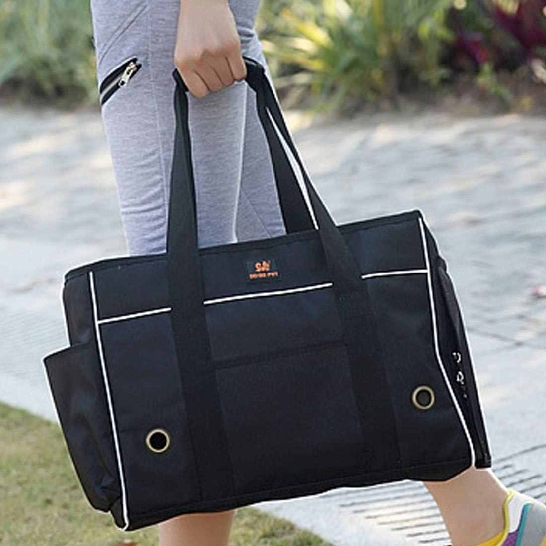 Your only family Pet Lovely Pretty Beautiful Fashion Comfortable Portable Pet Handbag Shoulder Bag for Cat/Dog and oher Pets Large, Size:492035cm Convenience