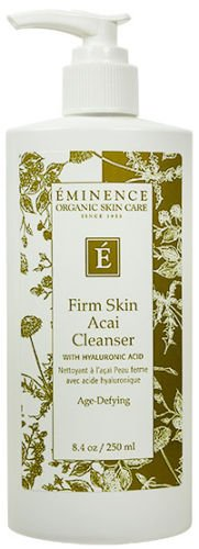 Eminence Firm Skin Acai Cleanser Hyaluronic Acid 250ml(8.4oz) Age Defying New Fresh Product