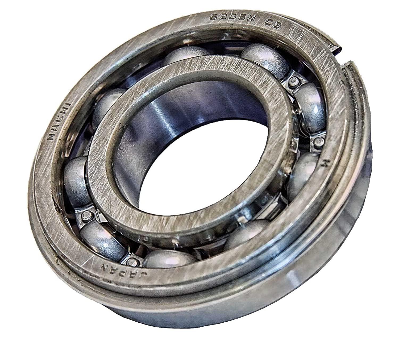 6206NR Nachi Bearing Open C3 Snap Ring Japan 30x62x16 Ball Bearings