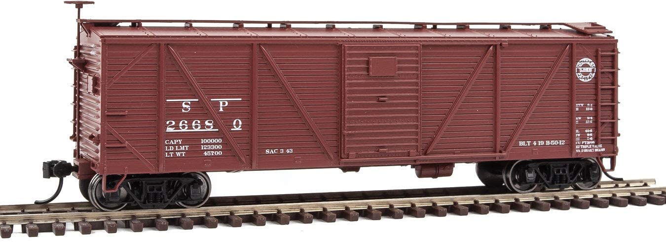 Walthers 910-40572 - 40ft Sheathed Boxcar Southern Pacific 26680 - HO Scale